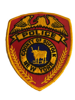 SUFFOLK NY POLICE PATCH