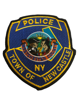 NEW CASTLE NY POLICE PATCH