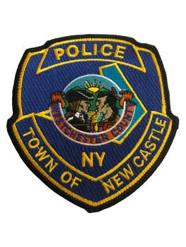 NEW CASTLE NY POLICE PATCH