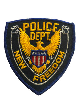 NEW FREEDOM NY POLICE PATCH