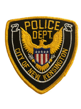 NEW KENSINGTON NY POLICE PATCH