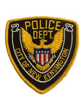 NEW KENSINGTON NY POLICE PATCH