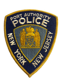 NY NJ PORT AUTHORITY  POLICE PATCH