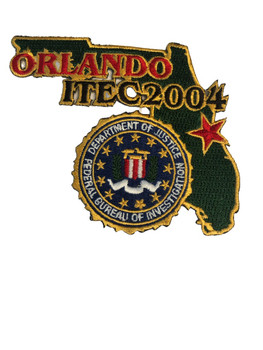 FBI ORLANDO 2004 POLICE PATCH