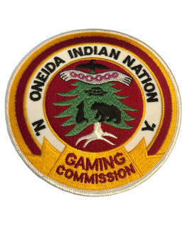 ONEIDA INDIAN NY GAMING POLICE PATCH