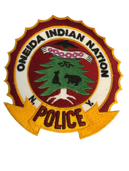 ONEIDA INDIAN NY POLICE PATCH