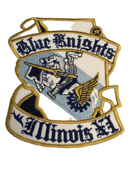 BLUE KNIGHTS OF ILLINOIS POLICE PATCH