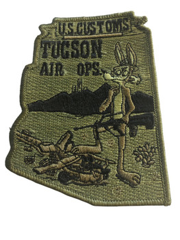 U.S. CUSTOMS TUCSON AIR OPS POLICE PATCH