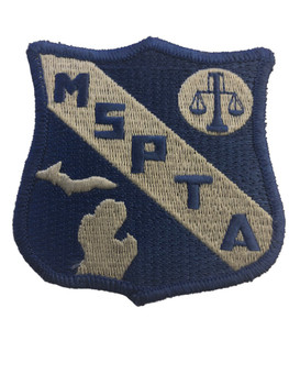MICHIGAN STATE POLICE TROOPERS ASSN PATCH