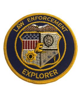 LAW ENFORCEMENT EXPLORER POLICE PATCH