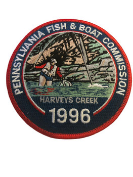 PENNSYLVANIA FISH & BOAT COMMISSION PATCH
