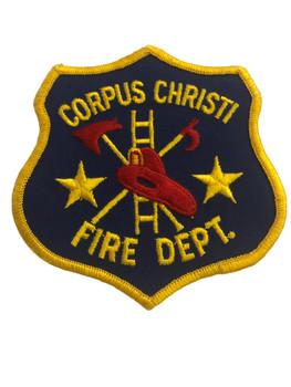 CORPUS CHRISTI FIRE DEPT PATCH