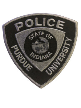 PURDUE UNIV.  INDIANA POLICE PATCH