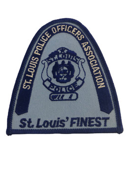 ST. LOUIS MO POLICE OFFICERS ASSN PATCH