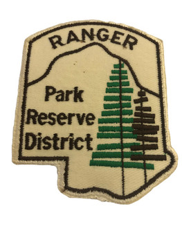 RANGER PARK RESERVE DISTRICT POLICE PATCH