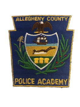 ALLEGHENY CTY PA POLICE ACADEMY PATCH