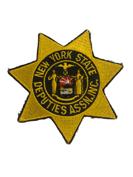 NEW YORK STATE DEPUTIES ASSN. NY POLICE PATCH