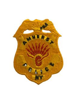 AMHERST NY POLICE PBA BADGE PATCH