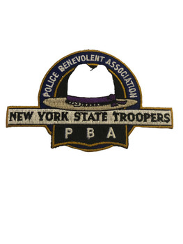 NEW YORK STATE TROOPERS ASSN. NY POLICE PATCH
