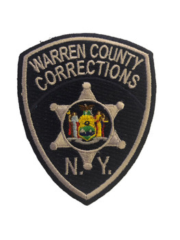 WARREN CTY NY SHERIFF CORRECTIONS POLICE PATCH