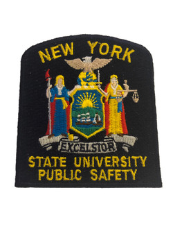 NY STATE UNIVERSITY PUBLIC SAFETY POLICE PATCH