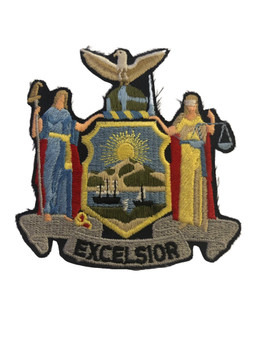 NY STATE EXCELSIOR PATCH
