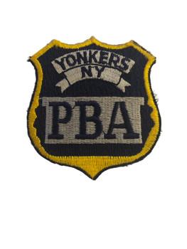 YONKERS NY PBA POLICE PATCH