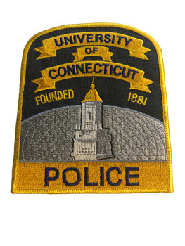 UNIV. OF CONNECTICUT POLICE PATCH