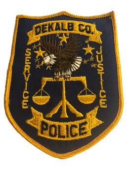 DEKALB CTY GA POLICE PATCH