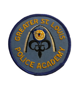 ST. LOUIS MO POLICE ACADEMY PATCH
