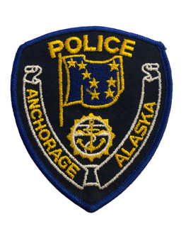 ANCHORAGE AK POLICE PATCH