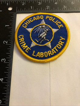 CHICAGO IL POLICE CRIME LAB PATCH