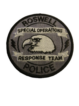 ROSWELL NM POLICE RESPONSE TEAM PATCH