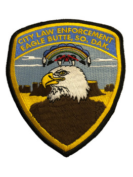 EAGLE BUTTE SD POLICE PATCH