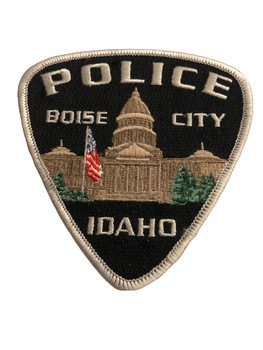 BOISE CITY ID POLICE PATCH