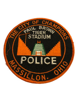 MASSILLON OH POLICE PATCH