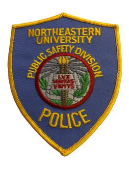 NORTHEASTERN UNIVERSITY POLICE PATCH