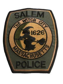 SALEM MA POLICE  PATCH
