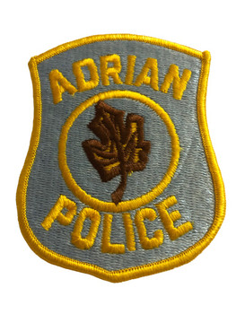 ADRIAN POLICE PATCH