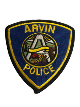 ARVIN POLICE PATCH