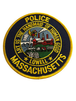 LOWELL MA POLICE PATCH