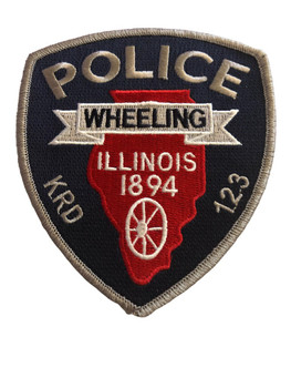WHEELING IL POLICE PATCH