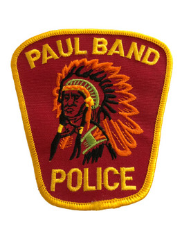 PAUL BAND POLICE PATCH