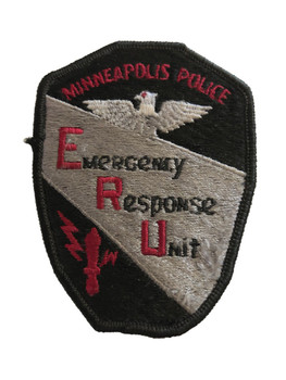 MINNEAPOLIS POLICE MN EMERGENCY RESCUE UNIT PATCH