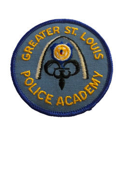 GREATER ST. LOUIS POLICE ACADEMY PATCH
