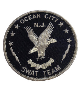 OCEAN CITY NJ  SWAT TEAM PATCH