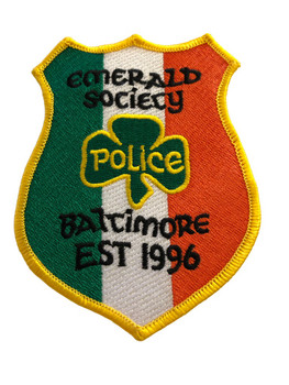 BALTIMORE POLICE EMERALD SOCIETY PATCH