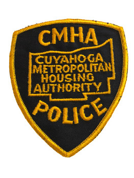 CUYAHOGA OH METRO HOUSING POLICE PATCH