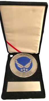 U.S. AIR FORCE HUGE MEDALLION