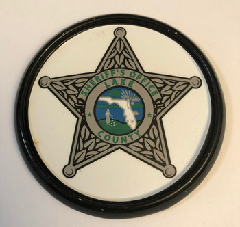 LAKE CTY SHERIFF FL COASTER PAPERWEIGHT